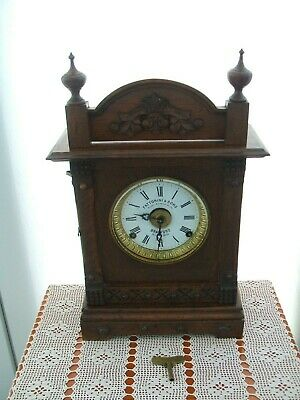 Superb Vintage Fattorini & Sons,Bradford,Bracket Clock