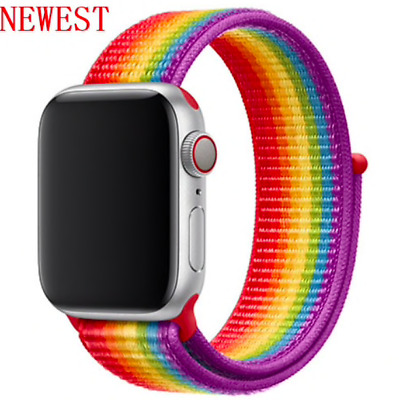cinturino strap loop sport in nylon apple watch 42/44mm PEACE COLOR