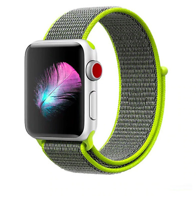 CInturino strap loop sport in nylon apple watch 42/44mm FLASH LIGHT