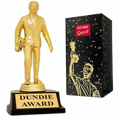 Dundie Award Trophy for The Office Bobblehead - Show Best Level Dundee Gag as...