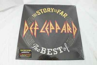Def Leppard - The Story So Far 180 Gram sealed NEW Vinyl Record