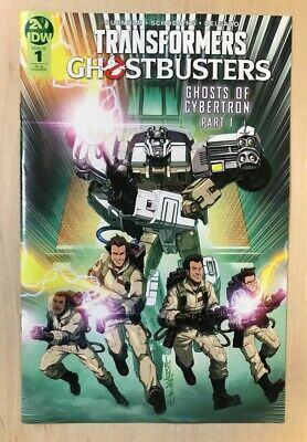TRANSFORMERS GHOSTBUSTERS # 1 - 1:10 Milne Retailer Variant - Burnham - IDW