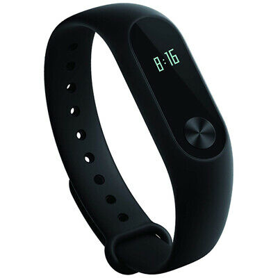 Xiaomi Mi Band 2 Smart Fitness Tracker With OLED Screen & Heart Rate Sensor - Bl