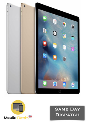 "Apple iPad Pro 12.9"" 32GB 128GB 256GB WiFi 4G LTE Retina Unlocked iOS UK STOCK"