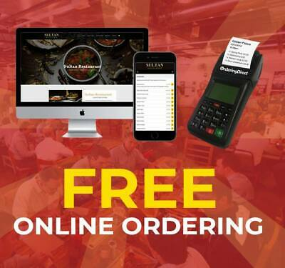 FREE Online Ordering System for your restaurant/takeaway
