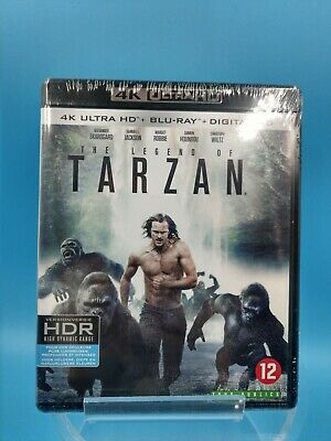 neuf film blu ray 4K ultra HD the legend of tarzan