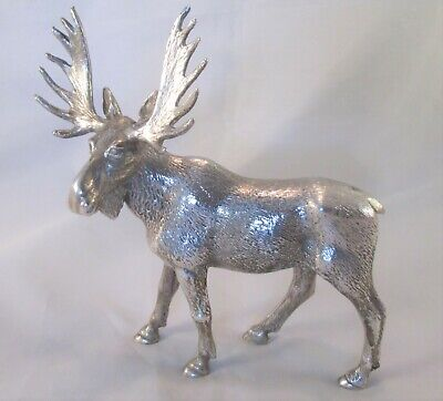 A Vintage Silver Plated Ornament / Figure of a Mousse