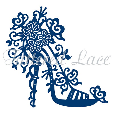 Tattered Lace High Heel Charisma Shoe Cutting Die D457