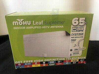 MOHU LEAF 50 Amplified Indoor HDTV Antenna - $39 95 | PicClick