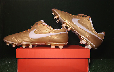competitive price 18029 a6096 NIKE RED TIEMPO Ronaldinho 10R FG Boot Size 10.5 Lightly ...
