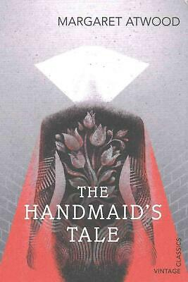 Handmaid's Tale by Margaret Atwood Paperback Book Free Shipping!
