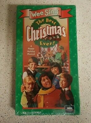 Wee Sing The Best Christmas Ever Vhs.Wee Sing The Best Christmas Ever Vhs Rare Brand New Sealed