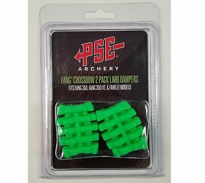 PSE Fang Crossbow 2-Pack Green Limb Dampeners #42287