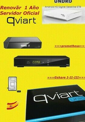 Renewal Prometheus server Gshare *1 year* qviart combo undro unic undro 2 mini
