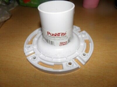 PUSH-TITE GASKETED CLOSET Flange,No 886-GP, Sioux Chief Mfg