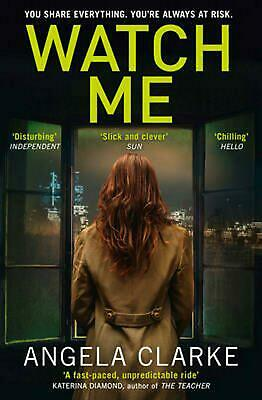 Watch Me by Angela Clarke (English) Paperback Book Free Shipping!