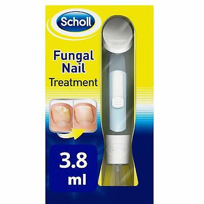 SCHOLL Fungal Nail Treatment 3.8ml HIGHLY EFFECTIVE KILL FUNGUS 99.9% Brand NEW