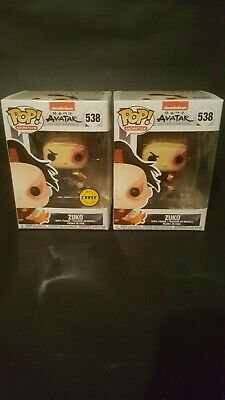Funko Pop! Animation Avatar the Last Airbender Zuko Chase & Common Set