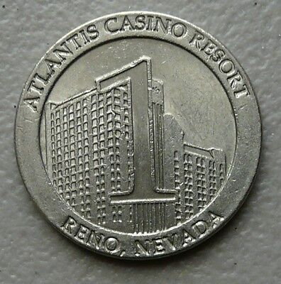 Atlantis Casino Resort - Reno, NV, $1 Slot Gaming Token