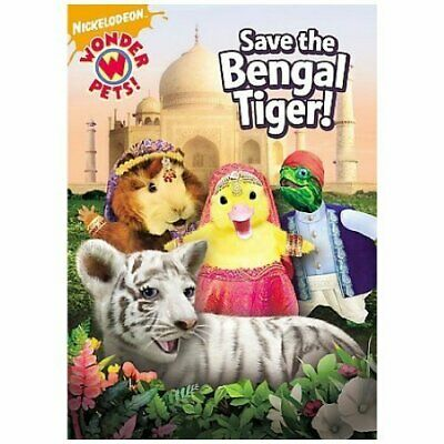Wonder Pets:Save The Bengal Tiger Dvd