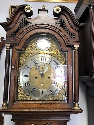 antique longcase grandfather clocks pre-1900