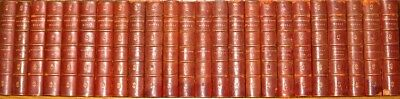 LEATHER Set;WORKS of VICTOR HUGO! (Complete 24-Volumes!) Leatherbound RARE! GIFT
