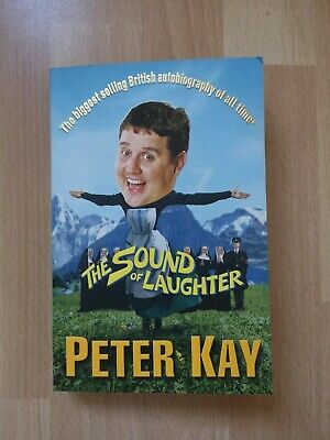 The Sound of Laughter by Peter Kay Paperback comedy book autobiography