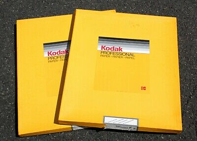 "195734 *EXPIRED* Kodak Polycontrast III RC 20 x 24"" Glossy B&W Photo Paper As-Is"