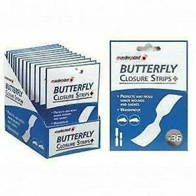 10 Boxes Butterfly Closures 10 Strips/Box (Deal)