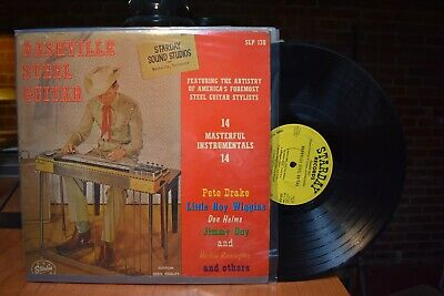 Pete Drake Little Roy Wiggins Nashville Steel Guitar LP Starday SLP 138 MN