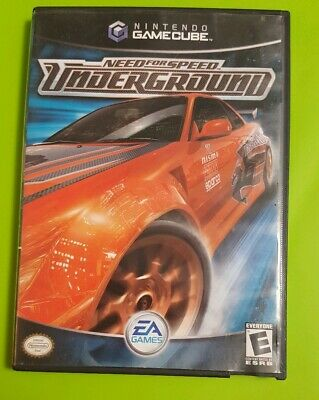 Need for Speed: Underground (Nintendo GameCube, 2003) ***Complete *Game Cube