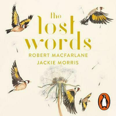 The Lost Words by Robert Macfarlane Compact Disc Book Free Shipping!