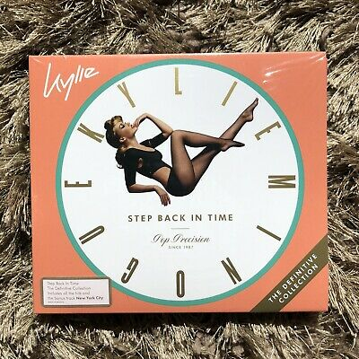 KYLIE MINOGUE Step Back In Time Definitive AUSTRALIAN VERSION SEALED Brand New