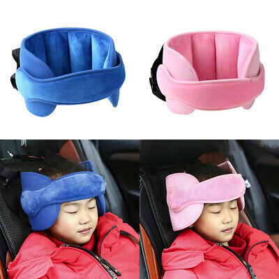 Baby / Kids Car Safety Sleep Nap Aid Stroller Seat Head Support Belts Adjustable