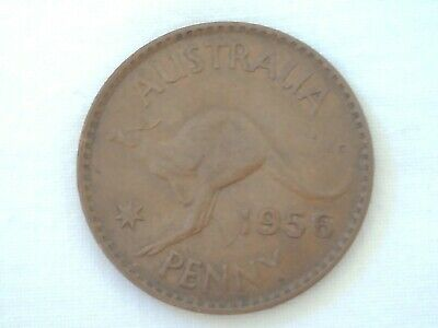 Olympic Games Collectable 1956 Melbourne Olympic Year Australian Penny