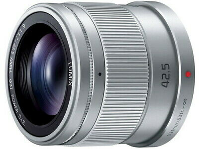 Panasonic LUMIX G 42.5mm F1.7 ASPH./POWER O.I.S. Lens Silver Japan Ver. New