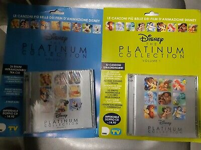 4 CD in two Way Disney the Platinum Collection Smiles and Songs 68 Tracks