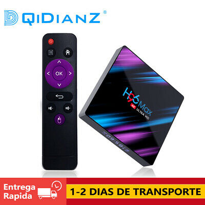 CAJA H96 MAX Android 9.0 TV Box RK3318 Quad Core Dual 4K HD Wifi BT 4.0 Media TV