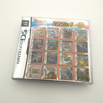 280 in 1 Game Card Multicart Cartridge For 3DS NDSI NDSL NDS -NEW item With box