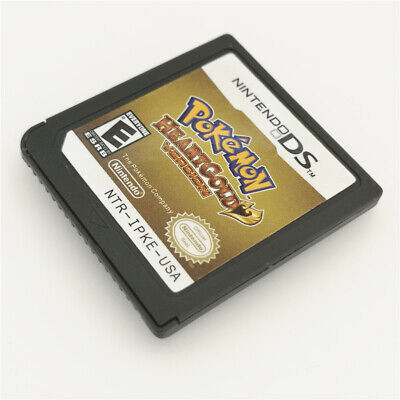 Pokemon HeartGold Version Game Card For Nintendo 3DS NDSI NDSL NDS Cartridge