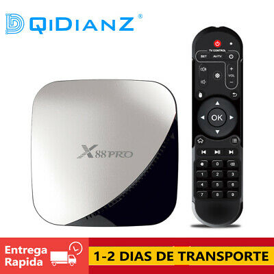 DQiDianZ X88 Pro Android 9.0 RK3188 Smart TV Box 4K HEVC TV CAJA Media Player