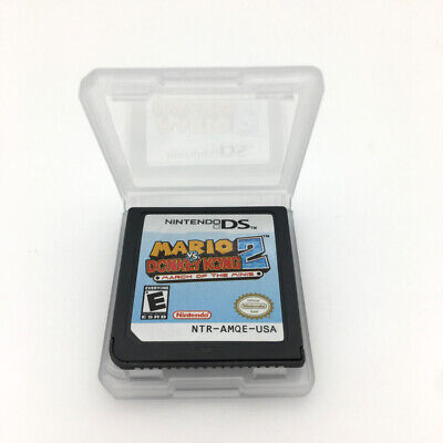 Mario VS. Donkey Kong 2  Game Card For Nintendo 3DS NDSI NDSL NDS Game Cartridge