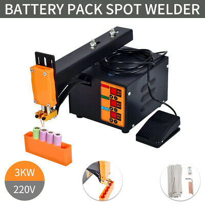 【EU】Pulse Spot Welder Welding Soldering Machine for Battery Packs 3kw 220V