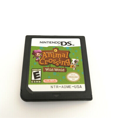 Animal Crossing Wild World Game Card For Nintendo 3DS NDSI NDSL NDS Cartridge