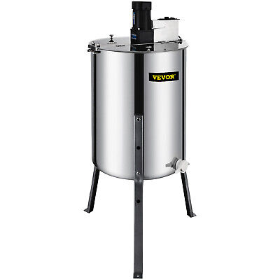 4 Frame Beekeeping Equipment Large Stainless Steel Electric Honey Extractor CA
