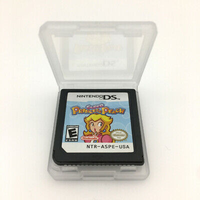 Super Princess Peach Game Card For Nintendo 3DS NDSI NDSL NDS Cartridge -NEW