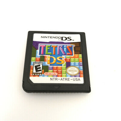 Tetris DS VIDEO Game Card For Nintendo 3DS NDSI NDSL NDS Cartridge -NEW