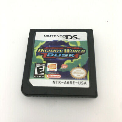 Digimon World Dusk Game Card For Nintendo 3DS NDSI NDSL NDS Cartridge-NEW