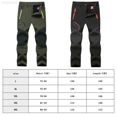 1797 Comfortable Waterproof Winter Sports Pants Camping Trousers Softshell