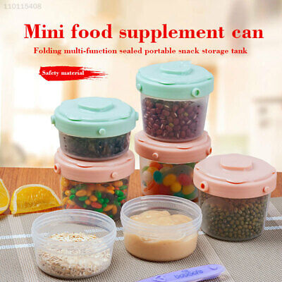 D68A Kitchen & Dining Round Food Containers Healthy Plastic Sealedtank